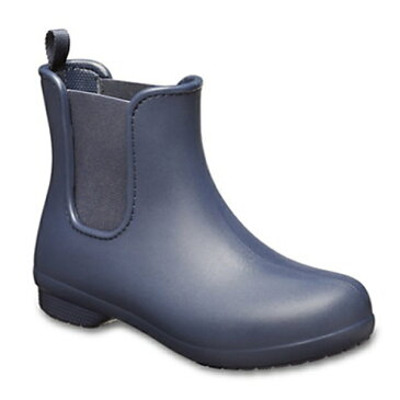 【送料無料】 クロックス レディース 長靴 Women s Crocs Freesail Chelsea Boot(W7:23.0cm/Navy×Navy) 204630