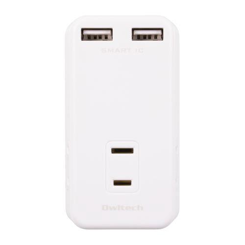 電池, 充電器 OWLTECH AC3 USB OWL-ACUS2A3-WH 2 Smart IC