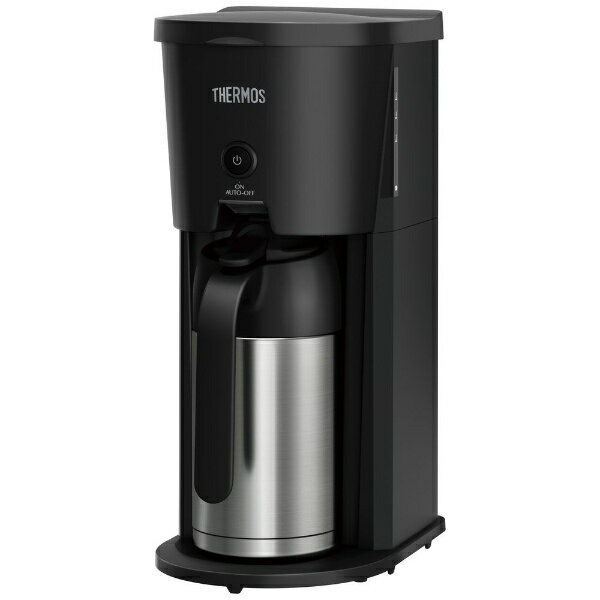 サーモス THERMOS 真空断熱ポット コーヒーメーカー ブラック ECJ-700(BK)[ECJ700BK]