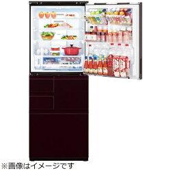 【2018年08月23日発売】【標準設置費込み】シャープSHARP《基本設置料金セット》プラズマクラスター冷蔵庫SJ-WX50E-Rグラデーションレッド