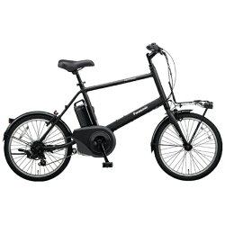【送料無料】パナソニックPanasonic20型電動アシスト自転車ベロスター・ミニ(ミッドナイトブラック/外装7段変速)BE-ELVS07B【組立商品につき返品】【配送】【メーカー直送・・時間指定・返品】