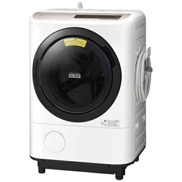 日立 HITACHI BD-NV120CL ドラム式洗濯乾燥機 ビッグドラム シャンパン [洗濯12.0kg /乾燥6.0kg /ヒーター乾燥(水冷・除湿タイプ) /左開き][BDNV120CL]