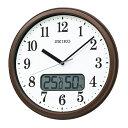 セイコーSEIKO 電波掛け時計KX244B KX244B 茶メタリック
