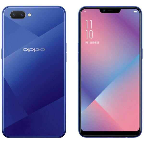 【送料無料】 OPPO OPPO R15 Neo ダイヤモンドブルー Android 8.1 6.2型 メモリ/ストレージ:3GB/...