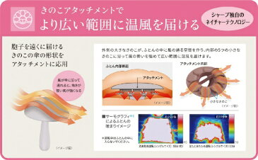 【送料無料】 シャープ SHARP UD-BF1 ふとん乾燥機 プラズマクラスター(Plasmacluster) ホワイト系 [マット無タイプ]