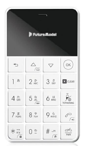 【送料無料】 フューチャーモデル FutureModel フューチャーモデル NichePhone-S-4G ホワイト 「...