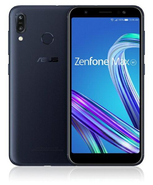 ASUS エイスース Zenfone Max M1 ディープシーブラック「ZB555KL-BK32S3」Snapdragon 430 5.5型...