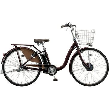 【送料無料】 ブリヂストン 24型 電動アシスト自転車 フロンティアデラックス(F.Xカラメルブラウン/内装3段変速)F4DB49【2019年モデル】【組立商品につき返品不可】 【代金引換配送不可】