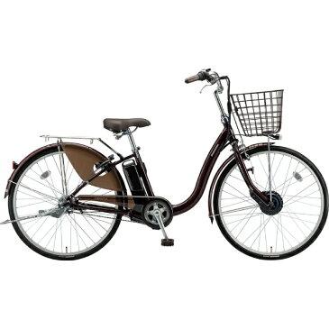 【送料無料】 ブリヂストン 24型 電動アシスト自転車 フロンティア(F.Xカラメルブラウン/内装3段変速) F4AB29【2019年モデル】【組立商品につき返品不可】 【代金引換配送不可】