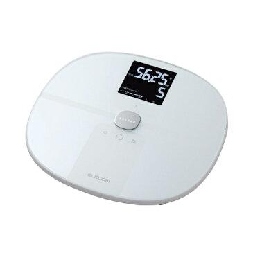 【送料無料】 エレコム 体組成計 「エクリア」(Wi-Fi通信機能搭載) HCS-WFS01WH ホワイト [スマホ管理機能あり]