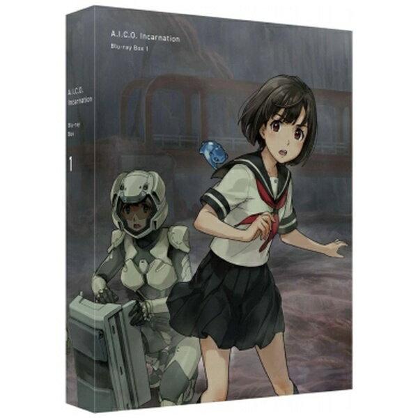 バンダイビジュアル BANDAI VISUAL A.I.C.O. Incarnation Blu-ray Box 1 特装限定版【ブルーレイ】画像