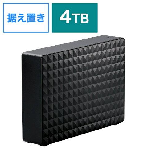 エレコム ELECOM SGD-MX040UBK 外付けHDD パソコン・デジタル家電用 ブラック [据え置き型 /4TB][SGDMX040UBK]
