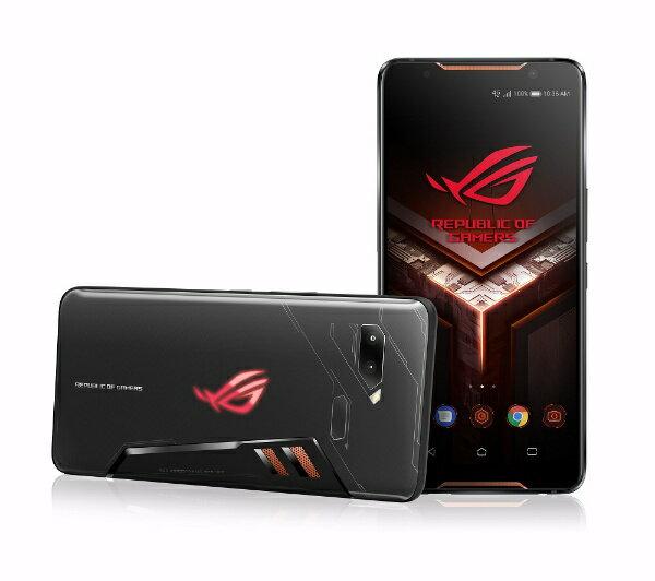 ASUS エイスース ROG Phone ブラック「ZS600KL-BK512S8」6型 Android 8.1 Snapdragon 845 メモ...