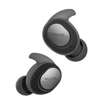 【2018年12月14日発売】 【送料無料】 NUARL フルワイヤレスイヤホン NT100-BK ブラック [リモコン・マイク対応 /防水&左右分離タイプ /Bluetooth]