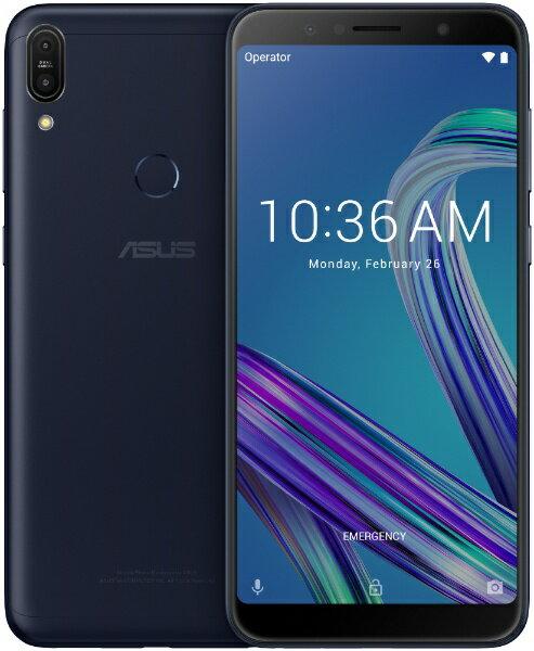 ASUS エイスース Zenfone Max Pro M1 ディープシーブラック「ZB602KL-BK32S3」Snapdragon 636 6...