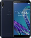 ASUS エイスース Zenfone Max Pro M1 ディープシーブラック「ZB602KL-BK32S3」Snapdragon 636 6型 メモリ/ストレージ:3GB/32GB nanoSIM x2 DSDV対応 ドコモ/au/YmobileSIM対応 SIMフリースマートフォン[ZB602KLBK32S3]