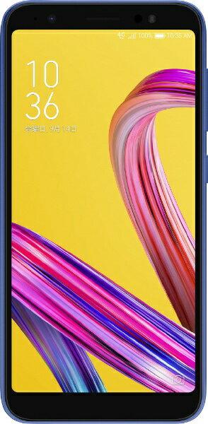 ASUS エイスース Zenfone Live L1 スペースブルー「ZA550KL-BL32」 Snapdragon 430 5.5型ワイド...