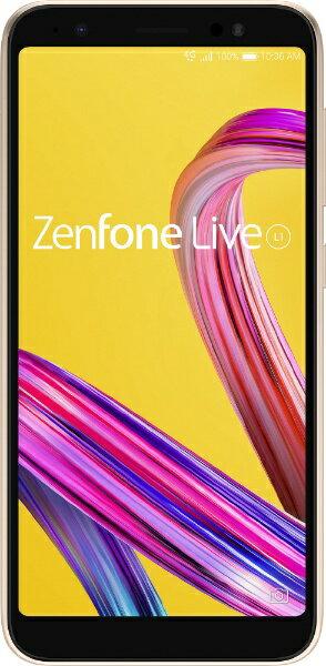 ASUS エイスース Zenfone Live L1 シマーゴールド「ZA550KL-GD32」 Snapdragon 430 5.5型ワイド...