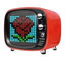 Divoom ディブーム ブルートゥース スピーカー TIVOO RED レッド [Bluetooth対応][TIVOORED]