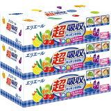大王製紙 Daio Paper エリエール 超吸収キッチンタオル ボックスタイプ75組3個