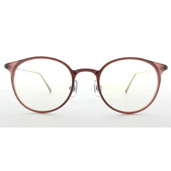 TAGlabel by amadana タグレーベル バイ アマダナ メガネ eye wear AT-WE-07(50)(MPK) マットピンク [度無し /薄型 /屈折率1.60 /非球面 /PCレンズ]