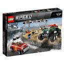 レゴジャパン LEGO 75894 スピードチャンピオン 1967 ミニクーパー S ラリーと 2018 ミニ・ジョン・クーパー・ワークス・バギー[レゴブロック]