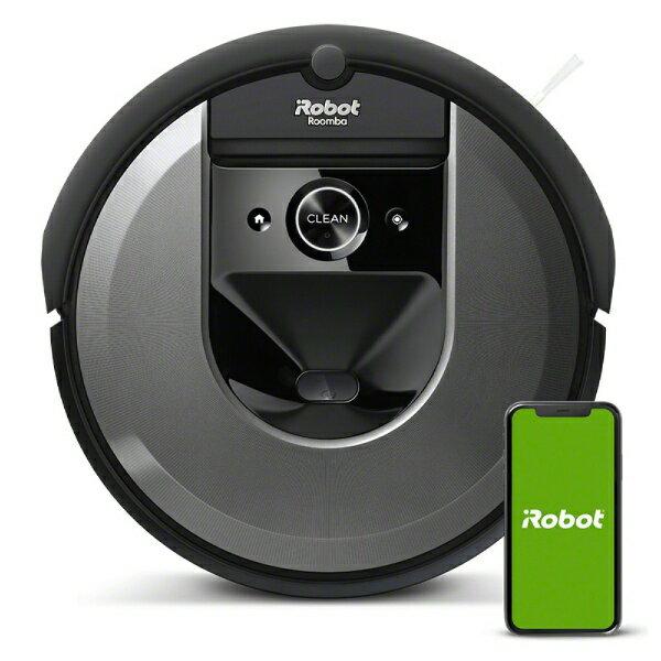 iRobot アイロボット 【国内正規品】 ロボット掃除機 「ルンバ」 i7 ダークグレー i715060[Roomba i7 i715060 お掃除ロボット]