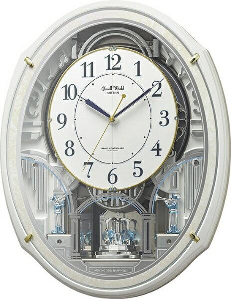 置き時計・掛け時計, からくり時計  RHYTHM N 4MN553RH03