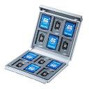サンワサプライSANWASUPPLY SD・microSDカードケース(ホワイト) FC-MMC4WN