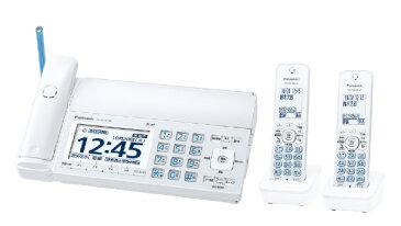 パナソニック Panasonic KX-PZ720DW-W FAX機 おたっくす ホワイト [子機2台 /普通紙][ファックス付き電話機 KXPZ720DWW]