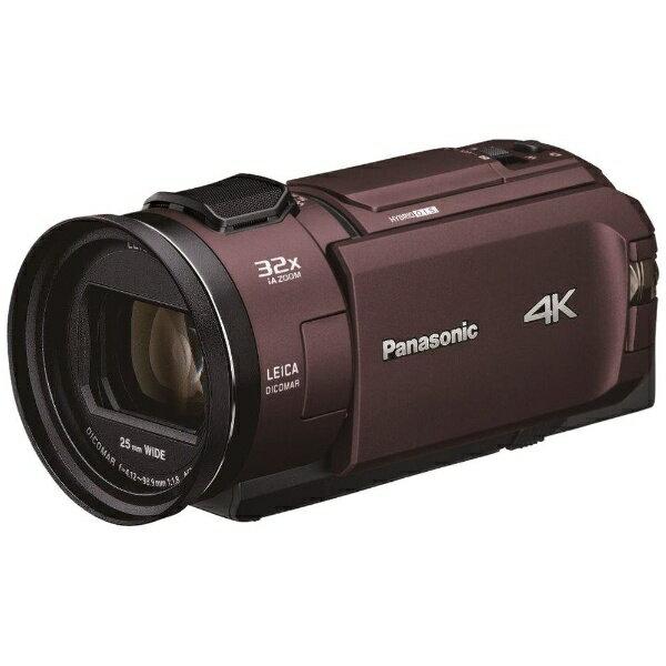 4Kビデオカメラ「HC-WX2M」