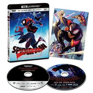 ソニーピクチャーズエンタテインメント Sony Pictures Entertainment スパイダーマン:スパイダーバース 4K ULTRA HD & ブルーレイセット【初回生産限定】【Ultra HD ブルーレイソフト】