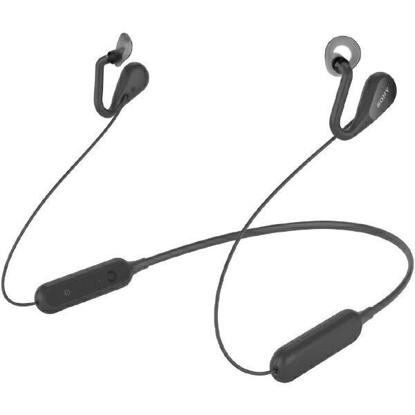 ソニー SONY ブルートゥースイヤホン イヤーカフ SBH82D ブラック [リモコン・マイク対応 /ネックバンド /Bluetooth][ワイヤレスイヤホン SBH82DJPB]