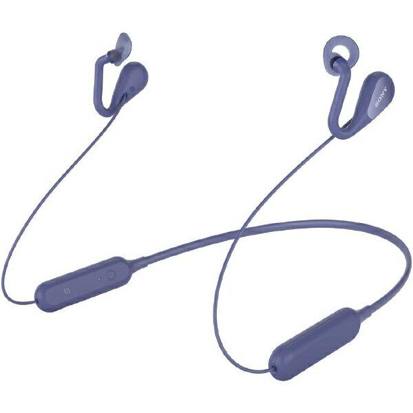 ソニー SONY ブルートゥースイヤホン イヤーカフ SBH82D ブルー [リモコン・マイク対応 /ネックバンド /Bluetooth][ワイヤレスイヤホン SBH82DJPL]