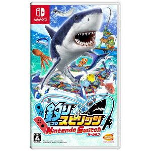 バンダイナムコエンターテインメント BANDAI NAMCO Entertainment 釣りスピリッツ Nintendo Switchバージョン【ニンテンドースイッチ ソフト】