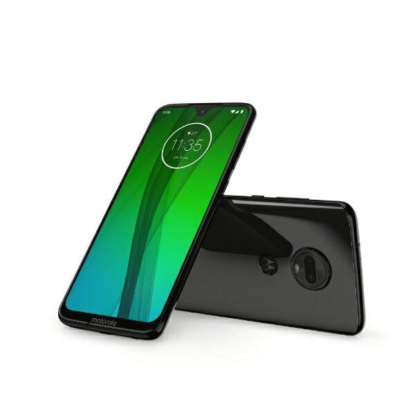 モトローラ Motorola Moto g7 セラミックブラック「PADY0000JP」Snapdragon 632 6.24型ワイド ...