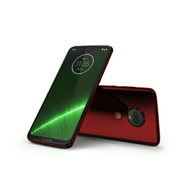 モトローラ Motorola Moto g7 Plus ビバレッド「PADU0002JP」Snapdragon 636 6.24型ワイド メモ...