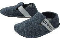 クロックス Crocs 子供用スリッパ Classic Kids(C9:16.5cm/Navy) 205349