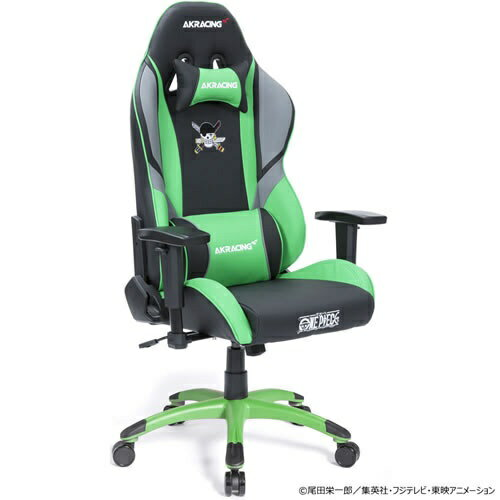 AKRacing エーケーレーシング AKR-ONEPIECE-ZORO ゲーミングチェア AKRacing ONE PIECEシリーズ ゾロモデル画像
