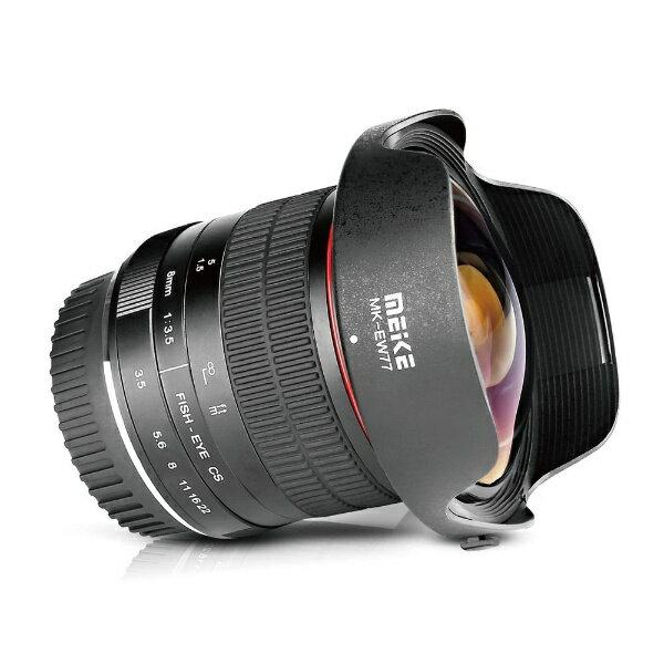 カメラ・ビデオカメラ・光学機器, カメラ用交換レンズ MEIKE 8mm F3.5 F MK08F35NF