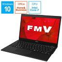 富士通 FUJITSU FMVU90D2B ノートパソコン LIFEBOOK UH90/D2 ピクトブラック [13.3型 /intel Core i7 /SSD:512GB /メモリ:8GB /2019年夏モデル][13.3インチ office付き 新品 windows10 FMVU90D2B]