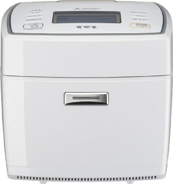 三菱 Mitsubishi Electric NJ-VVA10-W 炊飯器 備長炭 炭炊釜 ピュアホワイト [5.5合 /IH][NJVVA10W]