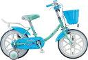 ブリヂストン BRIDGESTONE 16型 子供用自転車 エコキッズ カラフル(ミント&ライトブルー/シングルシフト)...