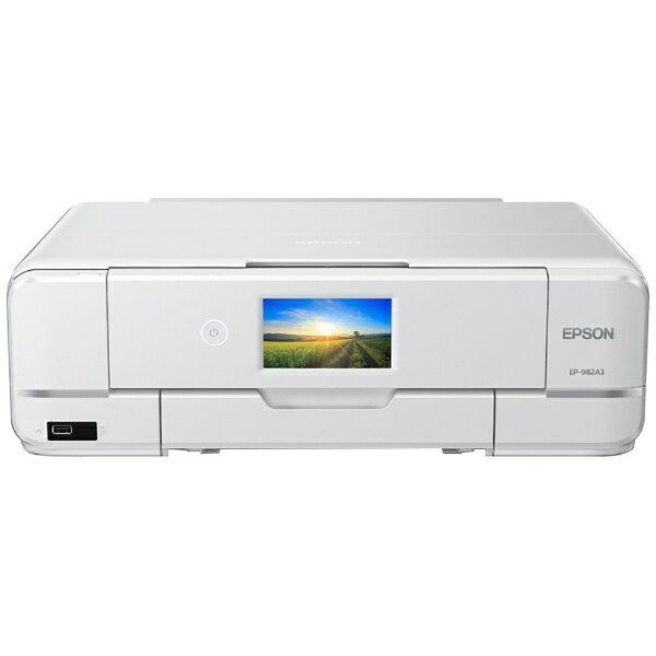 プリンタ・スキャナ複合機「Colorio EP-982A3」