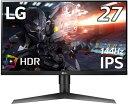 LG IPS 144Hz ゲーミングディスプレイ 27GL650F-B [27型 /ワイド /フルHD(1920×1080)][27GL650FB]