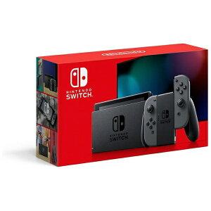 任天堂 Nintendo Nintendo Switch Joy-Con(L)/(R) グレー [2019年8月モデル][ニンテンドースイッチ 本体 新型 ゲーム機本体]