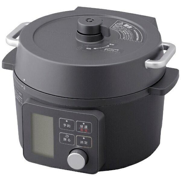 アイリスオーヤマIRISOHYAMA電気圧力鍋2.2LブラックKPC-MA2-B 電気鍋ブラックKPCMA2B
