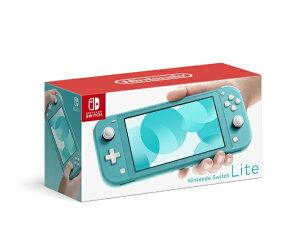 任天堂 Nintendo Nintendo Switch Lite ターコイズ[ニンテンドースイッチ ライト 本体 ゲーム機本体]