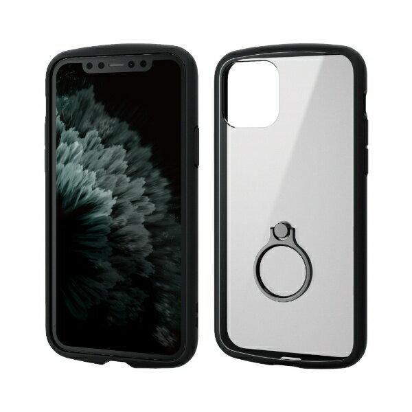 スマートフォン・携帯電話アクセサリー, ケース・カバー  ELECOM iPhone 11 Pro 5.8 TOUGH SLIM LITE PM-A19BTSLFCRBK