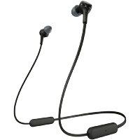 ソニー SONY ブルートゥースイヤホン EXTRA BASS ブラック WI-XB400 BZ [リモコン・マイク対応 /ネックバンド /Bluetooth][ワイヤレスイヤホン][WIXB400BZ]